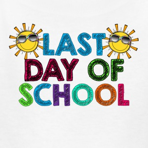 Last day of school logo