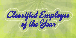 Classified Employee of the year